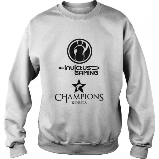 Sweater The Championship Lol Esports 2018 Invictus Gaming Shirt