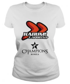 Ladies Tee The Championship Lol Esports 2018 KaBuM! e-Sports Shirt