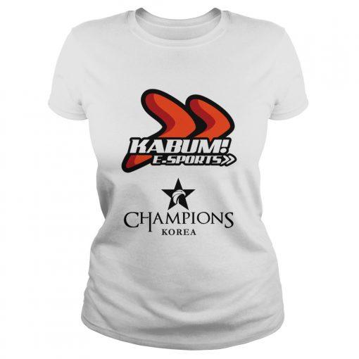 Ladies Tee The Championship Lol Esports 2018 KaBuM! e-Sports Shirt
