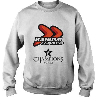 Sweat The Championship Lol Esports 2018 KaBuM! e-Sports Shirt