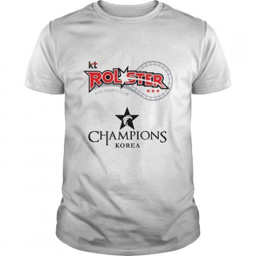 Guys The Championship Lol Esports 2018 kt Rolster Shirt