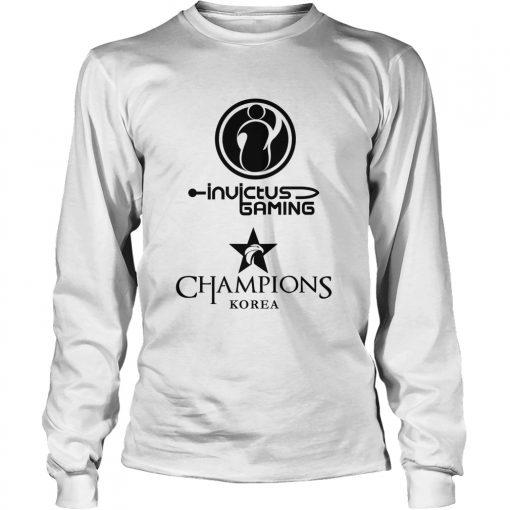 Long Sleeve The Championship Lol Esports 2018 Invictus Gaming Shirt