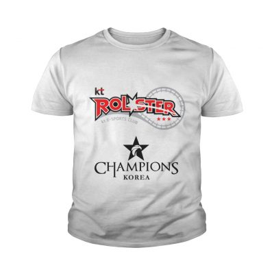 Youth Tee The Championship Lol Esports 2018 kt Rolster Shirt