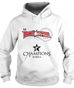 Hoodie The Championship Lol Esports 2018 kt Rolster Shirt