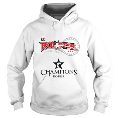 Hoodie The Championship Lol Esports 2018 kt Rolster Shirt