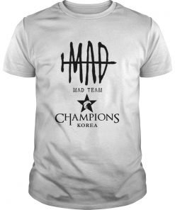 Guys The Championship Lol Esports 2018 Mad Team Shirt