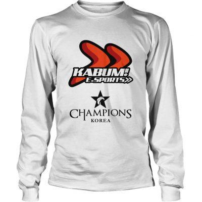 Long Sleeve The Championship Lol Esports 2018 KaBuM! e-Sports Shirt