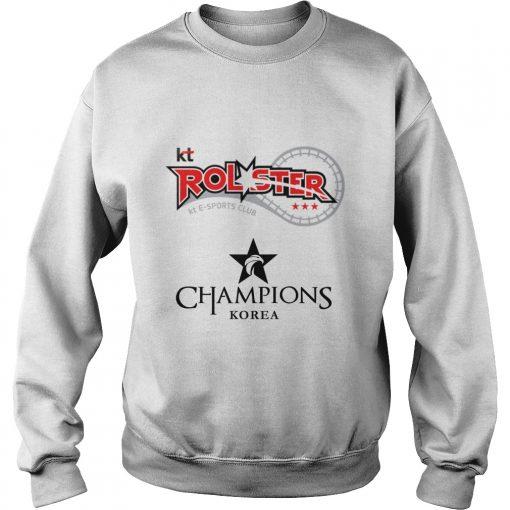 Sweater The Championship Lol Esports 2018 kt Rolster Shirt