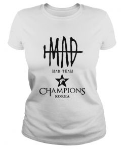 Ladies Tee The Championship Lol Esports 2018 Mad Team Shirt