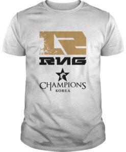 Guys The Championship Lol Esports 2018 Royal Never Give Up Shirt