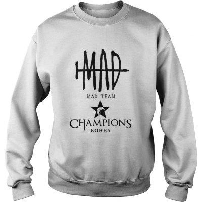Sweat The Championship Lol Esports 2018 Mad Team Shirt