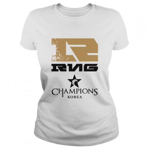 Ladies Tee The Championship Lol Esports 2018 Royal Never Give Up Shirt