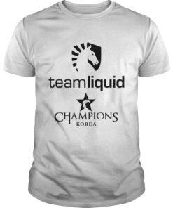 Guys The Championship Lol Esports 2018 Team Liquid Shirt
