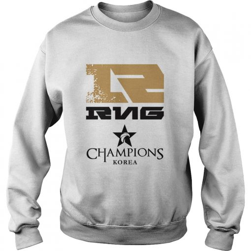 Sweater The Championship Lol Esports 2018 Royal Never Give Up Shirt
