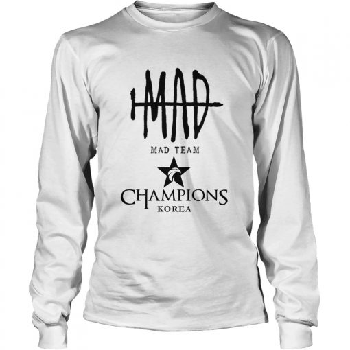 Long Sleeve The Championship Lol Esports 2018 Mad Team Shirt