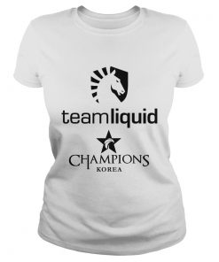 Ladies Tee The Championship Lol Esports 2018 Team Liquid Shirt