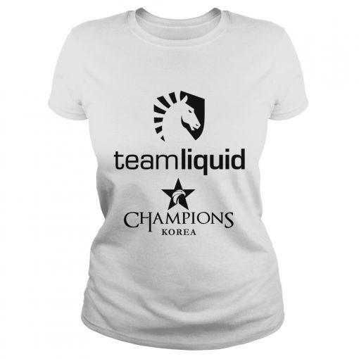Ladies Tee The Championship Lol Esports 2018 Team Liquid Shirt