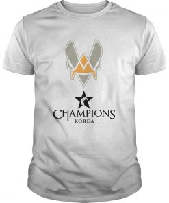 Guys The Championship Lol Esports 2018 Team Vitality Shirt