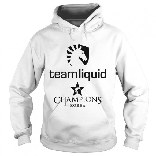Hoodie The Championship Lol Esports 2018 Team Liquid Shirt