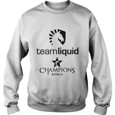 Sweat The Championship Lol Esports 2018 Team Liquid Shirt