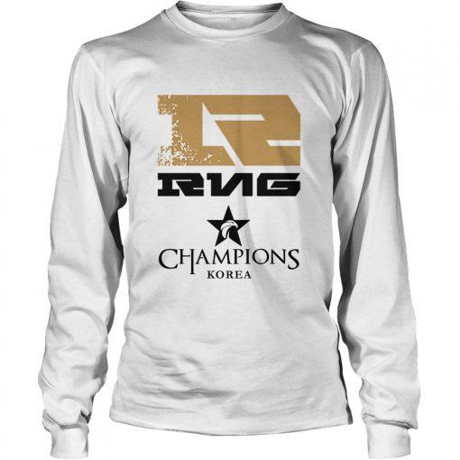 Long Sleeve The Championship Lol Esports 2018 Royal Never Give Up Shirt