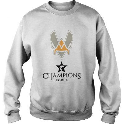 Sweater The Championship Lol Esports 2018 Team Vitality Shirt