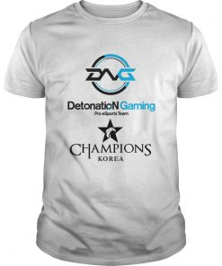 Guys The Championship Lol Esports 2018 DetonatioN FocusMe Shirt