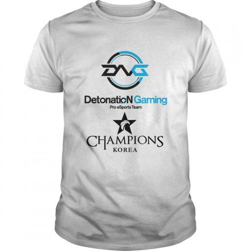 Guys The Championship Lol Esports 2018 DetonatioN FocusMe Shirt