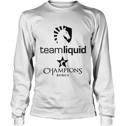 Long Sleeve The Championship Lol Esports 2018 Team Liquid Shirt