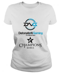 Ladies Tee The Championship Lol Esports 2018 DetonatioN FocusMe Shirt