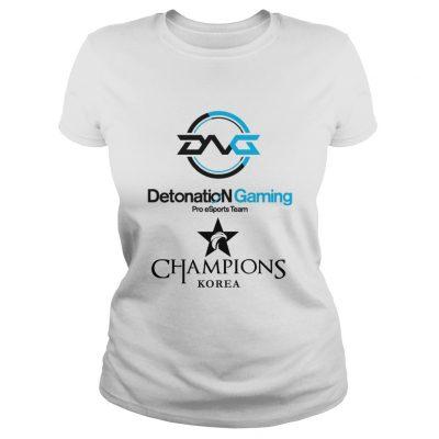 Ladies Tee The Championship Lol Esports 2018 DetonatioN FocusMe Shirt