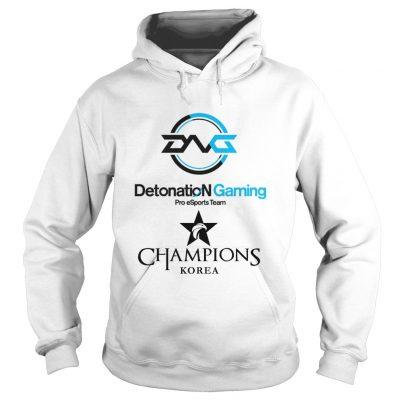 Hoodie The Championship Lol Esports 2018 DetonatioN FocusMe Shirt