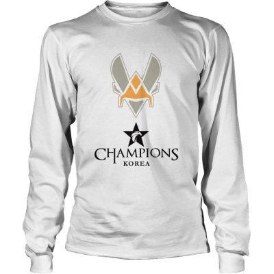Long Sleeve The Championship Lol Esports 2018 Team Vitality Shirt