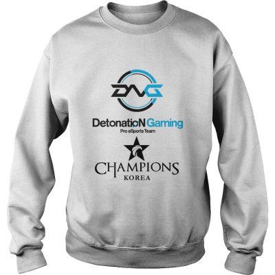 Sweat The Championship Lol Esports 2018 DetonatioN FocusMe Shirt
