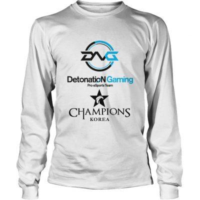 Long Sleeve The Championship Lol Esports 2018 DetonatioN FocusMe Shirt
