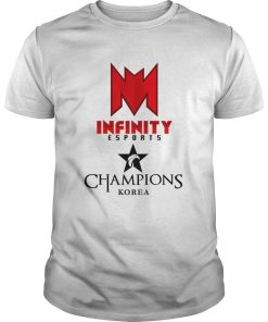 Guys The Championship Lol Esports 2018 Infinity eSports Shirt