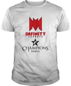 Guys The Championship Lol Esports 2018 Infinity eSports Shirt