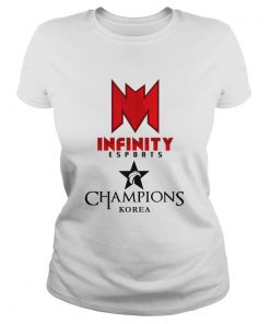 Ladies Tee The Championship Lol Esports 2018 Infinity eSports Shirt