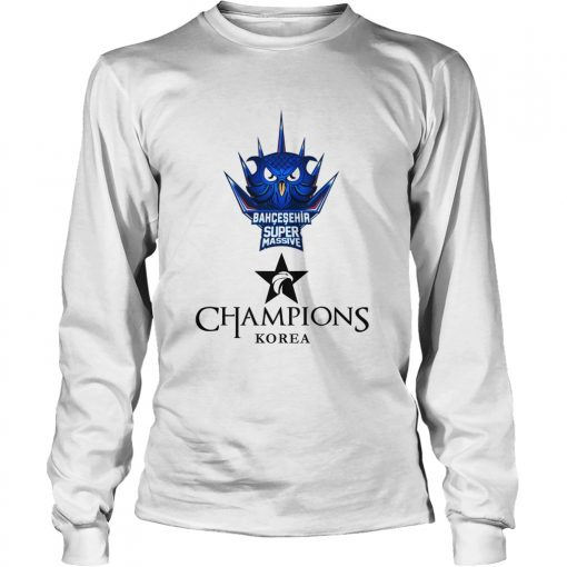 Long Sleeve The Championship Lol Esports 2018 Bahçeşehir Supermassive Shirt