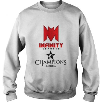 Sweat The Championship Lol Esports 2018 Infinity eSports Shirt