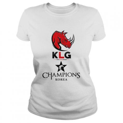 Ladies Tee The Championship Lol Esports 2018 Kaos Latin Gamers Shirt
