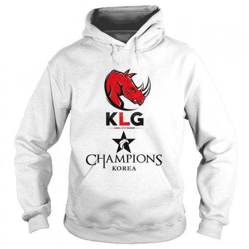 Hoodie The Championship Lol Esports 2018 Kaos Latin Gamers Shirt