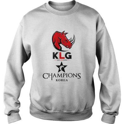 Sweat The Championship Lol Esports 2018 Kaos Latin Gamers Shirt