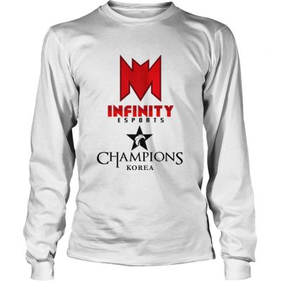 Long Sleeve The Championship Lol Esports 2018 Infinity eSports Shirt