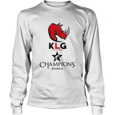 Long Sleeve The Championship Lol Esports 2018 Kaos Latin Gamers Shirt