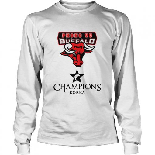 Long Sleeve The Championship Lol Esports 2018 Phong Vũ Buffalo Shirt