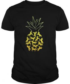 Guys Unicorn Pineapple shirt