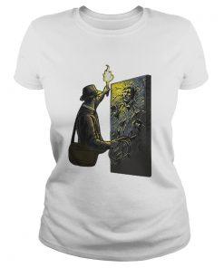 Ladies Tee Indiana Jones Han Solo Carbonite shirt
