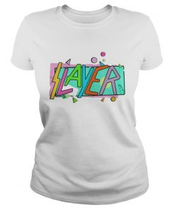 Ladies Tee Official 2018 Slayer shirt