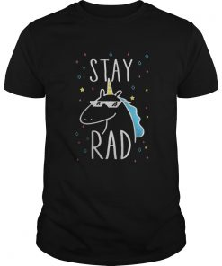 Guys Unicorn stay rad shirt